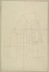 [Plan of the buildings in Hamilton Place, Piccadilly and Park Lande, belonging to the Crown]